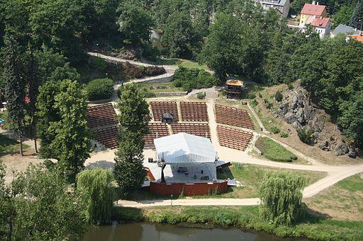 Loket - amfiteatr